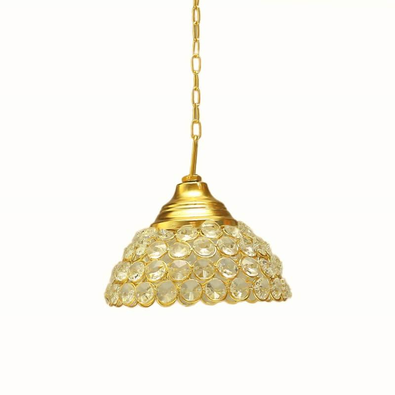 Crystal Hanging Pendant Half Globe