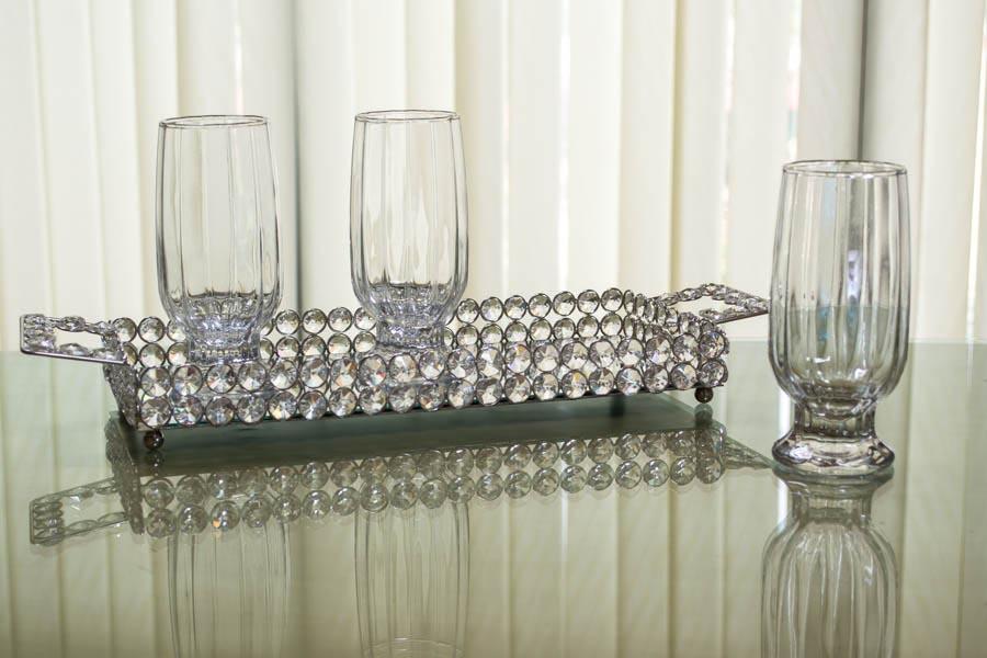 Rectangle Crystal Tray-Small