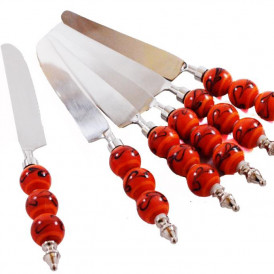 Orioles Orange Beads and Black Climber-Knife