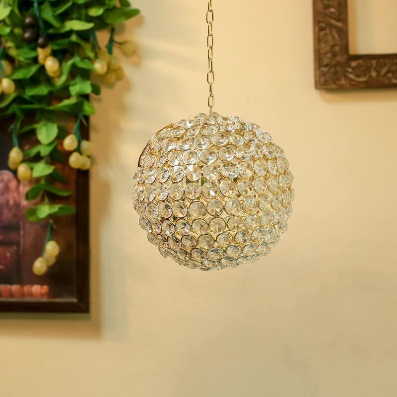 Crystal Hanging Pendant Ball Small