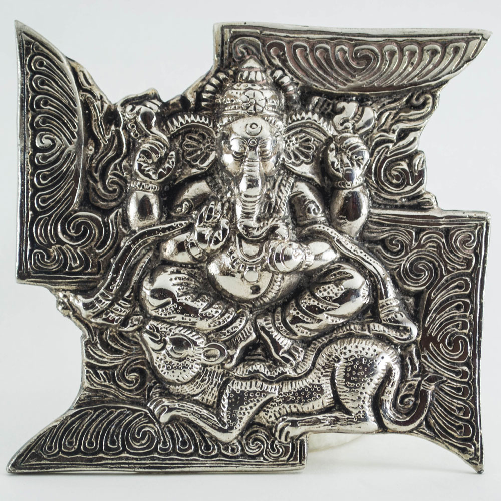 Hand Carved Lord Ganesh on Sathiya