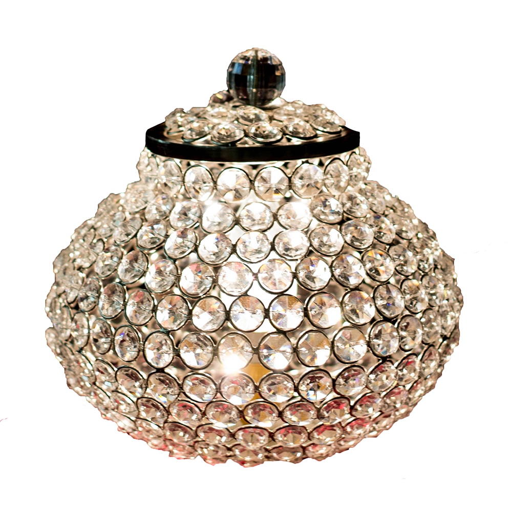 Cauldron of Light- 315 Crystal lamp