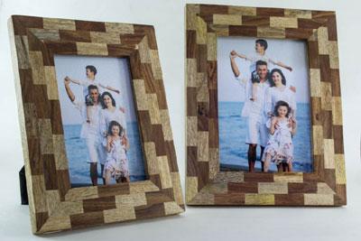 Double Wood Photoframe