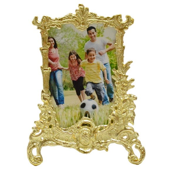 Golden Classic Base Metal Photoframe