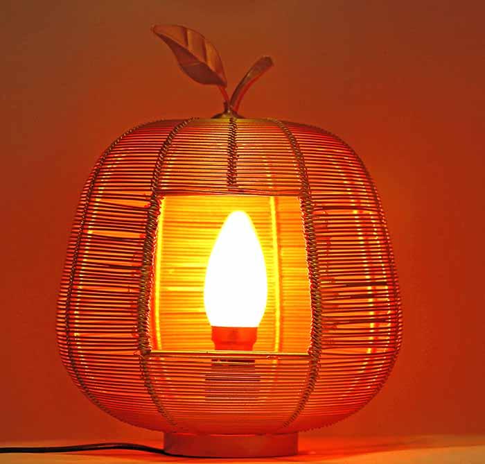 Golden Apple Contemporary Lamp