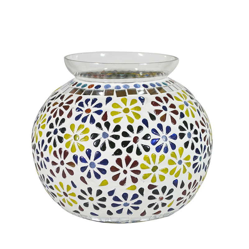 Persian Mosaic Floral Paradise Lamp
