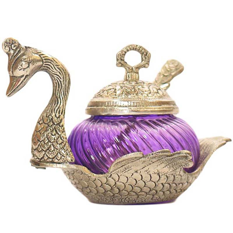 Single Duck Bowl Violet