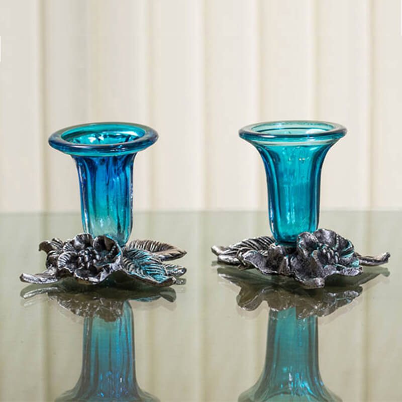 Candle Stand Grapevine- Set of Two