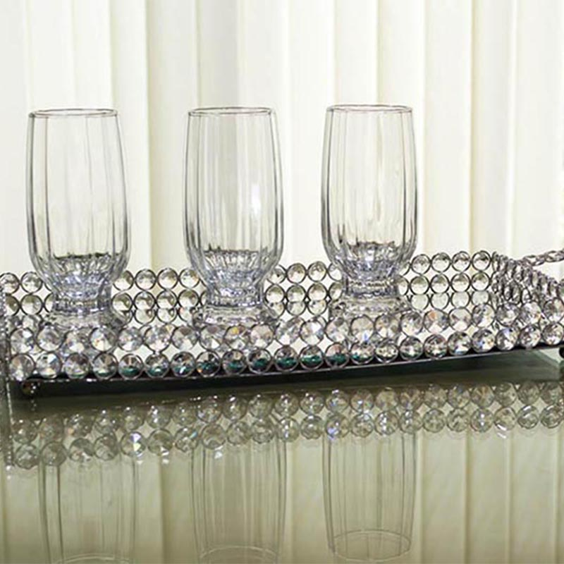 Rectangle Crystal Tray-Medium