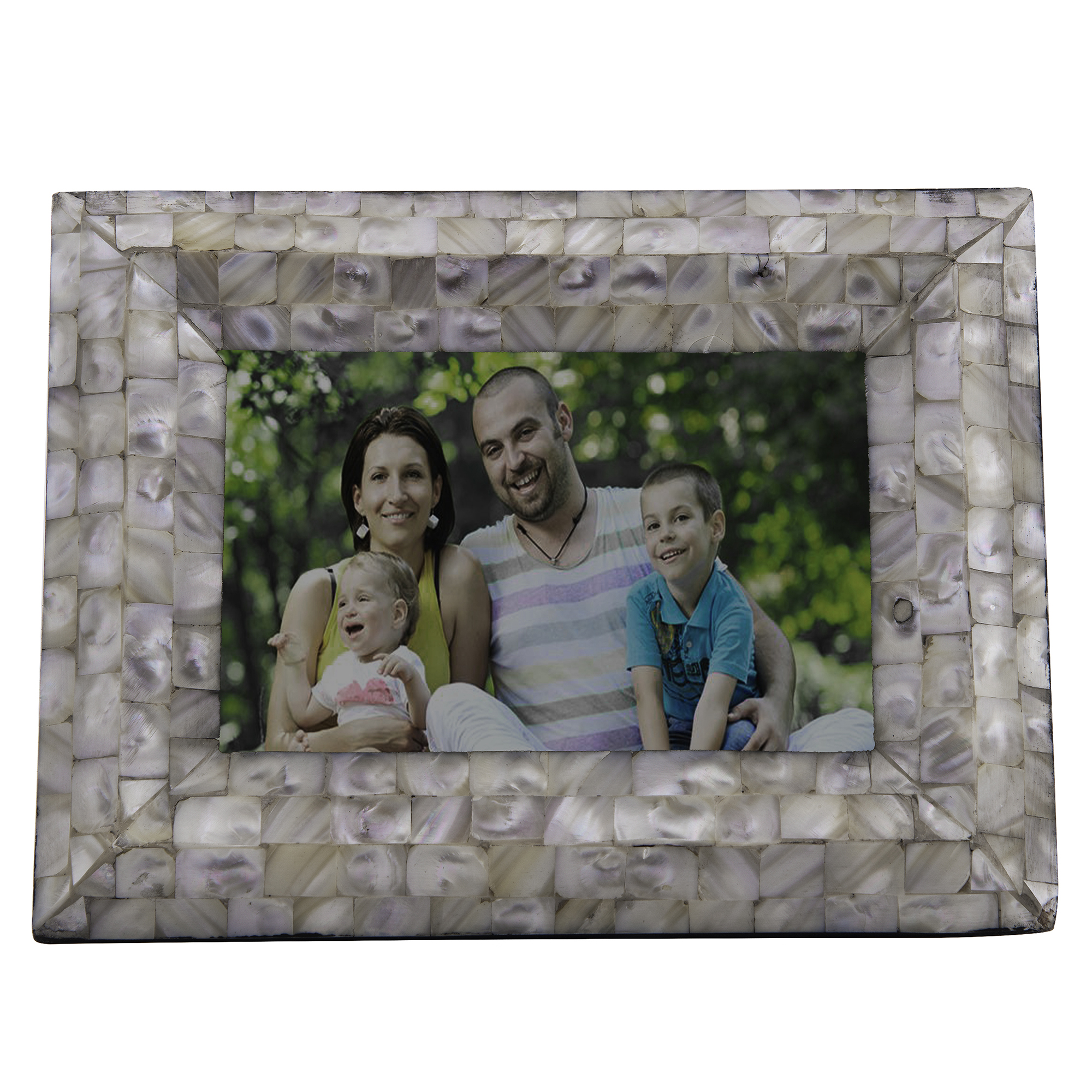 Mother-of-Pearl Tapered Edge Photoframe