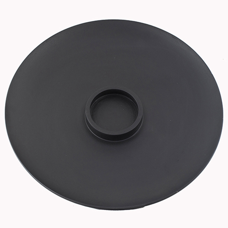 Wood Chip-n-Dip Black with White Dip-Bowl
