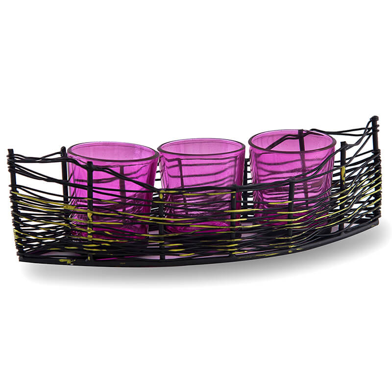 Black Wire Cruise Pink