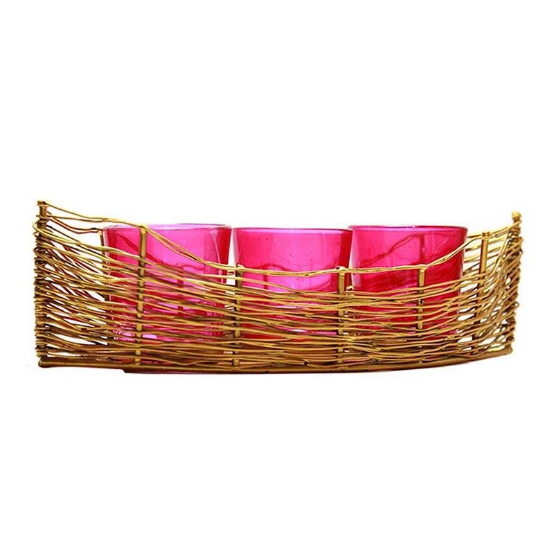 Golden Wire Cruise Pink