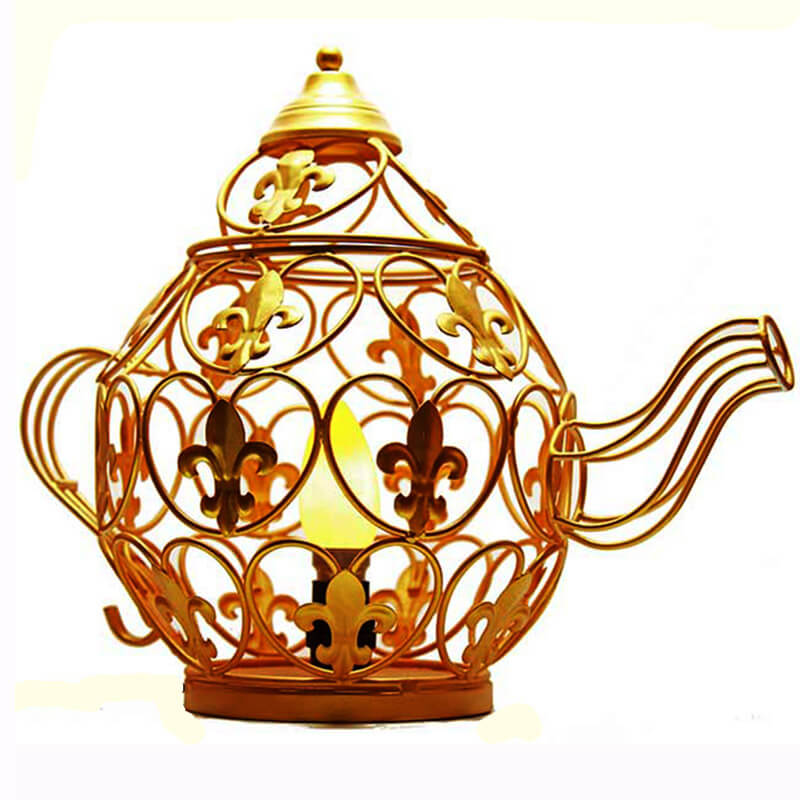Golden kettle Table Lamp