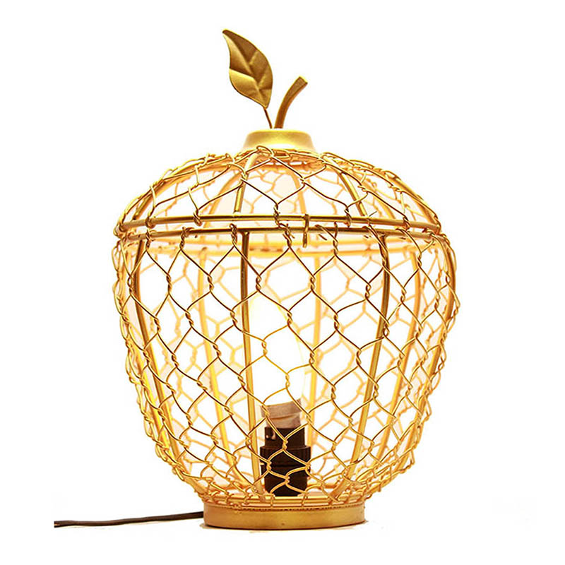Golden Apple Cage Classic Lamp