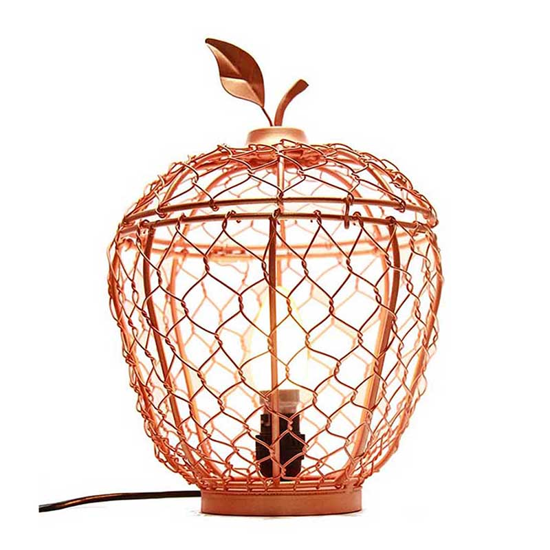 Copper Apple Cage Classic Lamp