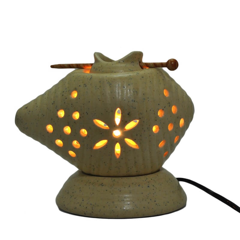 Premium Ceramic Electric Diffuser- Conch shape