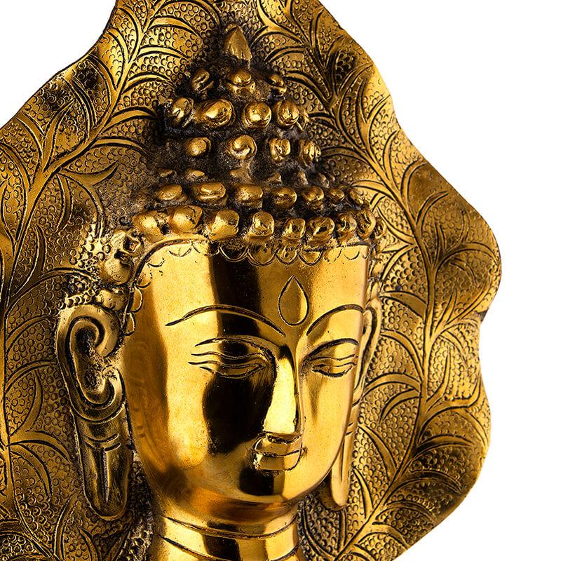 Buddha Face Hanging Leaf