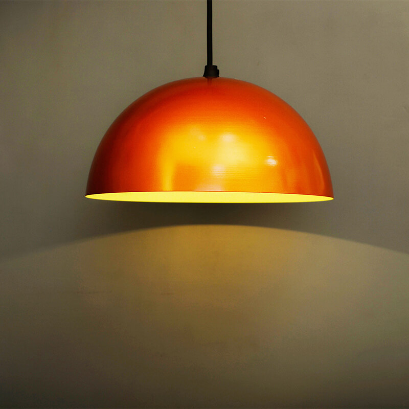 "Metallic Copper Pendant Hanging Light, Hanging Lamp 10"""