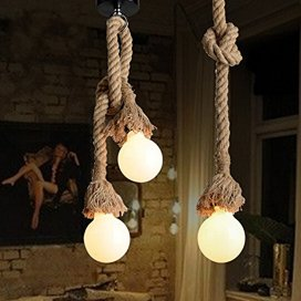 Double Hanging Rope with 2 Holders