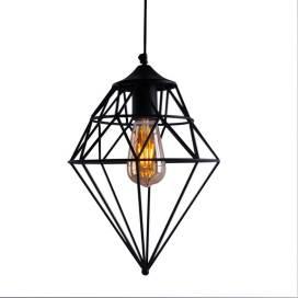 Vintage Edison Filament Hanging Classic Gem , E27 Hanging Light,with LED Filament ST64 Bulb