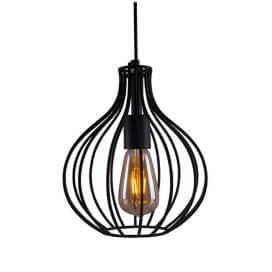 Vintage Edison Filament Hanging Crown , E27 Hanging Light,with LED Filament ST64 Bulb