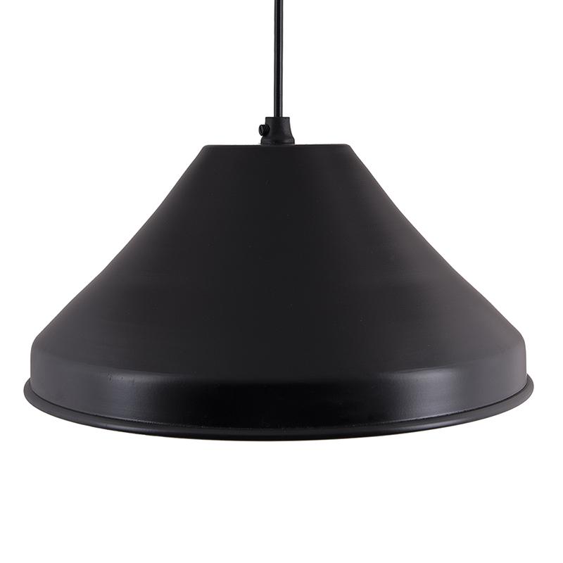 Classic Inverted Cone Black Hanging Lamp, Pendant Light