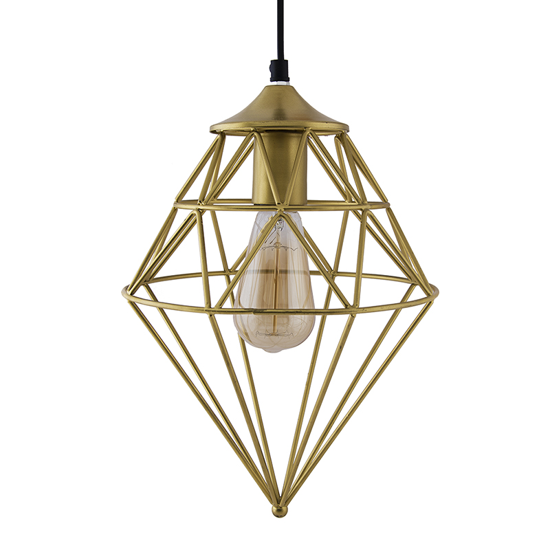Vintage Edison Filament Hanging Classic Gem , E27 Hanging Ceiling Light for LED/Filament Bulb, Decorative Urban Retro Lighting