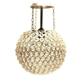 Crystal Pendant Wall Hanging with Fixture, Hanging Lamp
