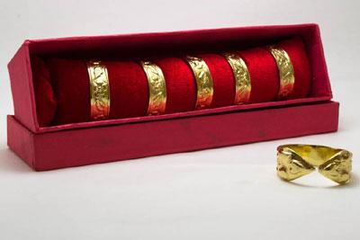 Engraved Bracelet Napkin Ring