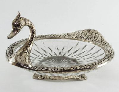 Metal Glass Serving Duck