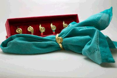 Classic Twister Napkin Ring