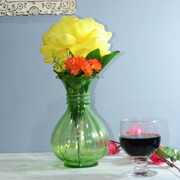 Lush Luster Pitcher Flower Vase