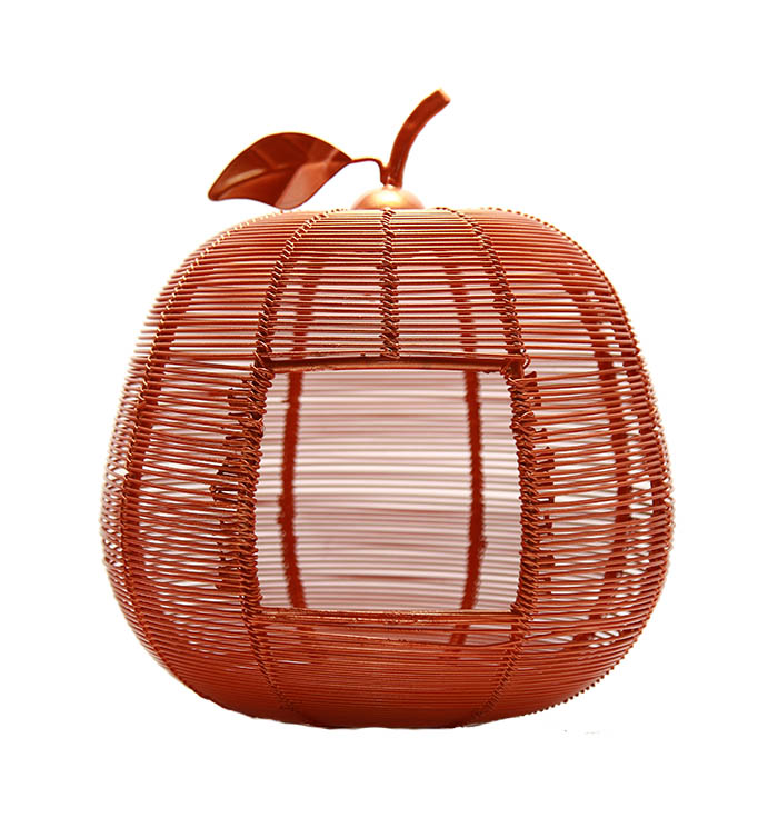 Copper Apple Classic Candle Holder
