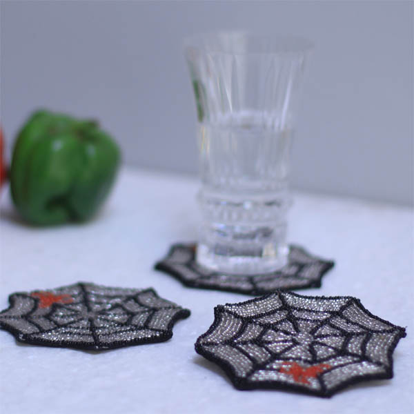 Mercury Cobweb Coaster (4 pcs)