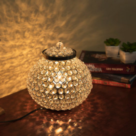 Cauldron of Light, 315 Crystal lamp, Decorative table lamp