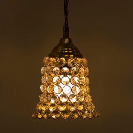 Crystal Hanging Pendant Bell Light