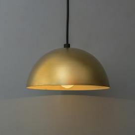 """Metallic Golden Pendant Hanging Light, Hanging Lamp 8"""""""