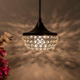 Crystal Hanging Goblet Light, Ceiling Light, Nordic E27 Pendant