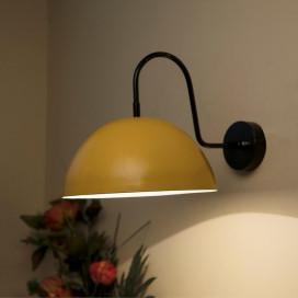 "Metallic Pendant 10"" Wall Sconce Gooseneck Retro Wall Light Fixtures for Bedroom Nightstand, Barn Warehouse"