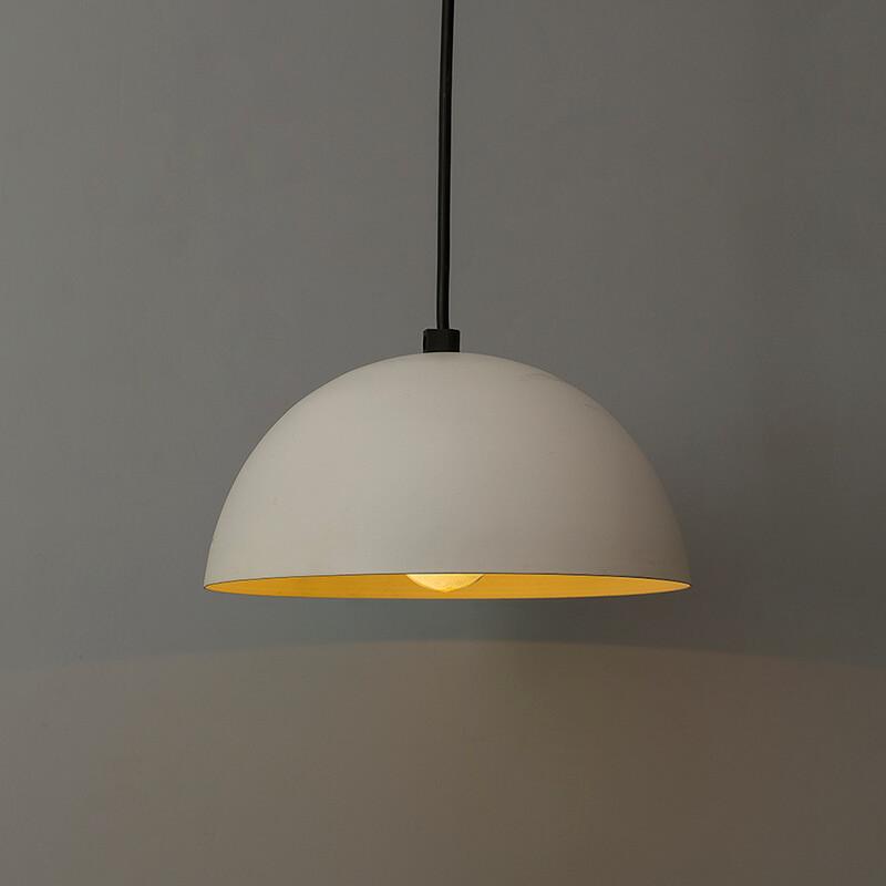 "Classy White Pendant Hanging Light, Hanging Lamp 8"""