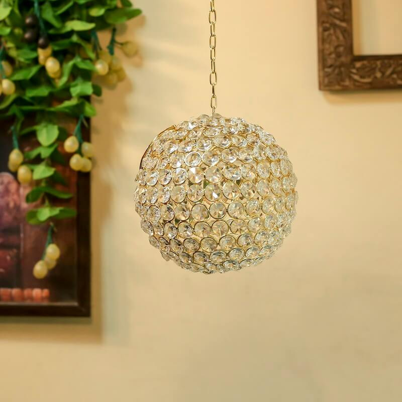 Crystal Hanging Pendant Ball Small