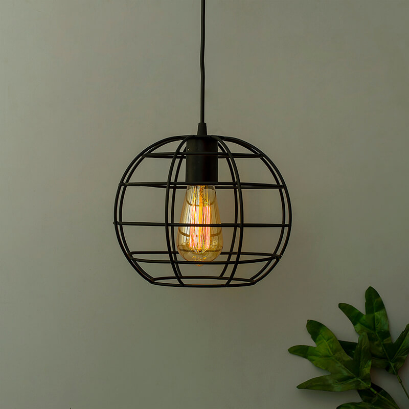 Vintage Edison Filament Hanging Classic Sphere, E27 Hanging Light