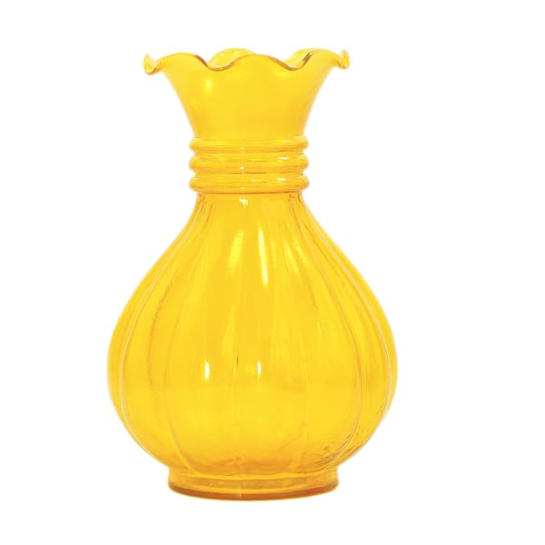 Aureolin Luster Pitcher Flower Vase