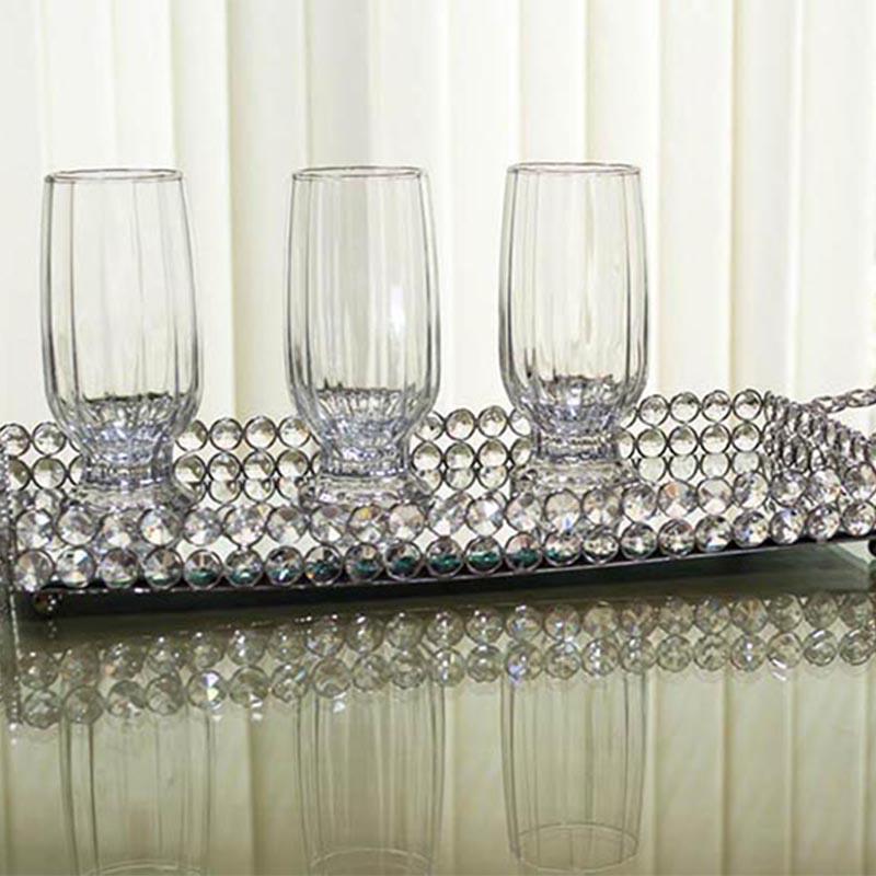 Rectangle Crystal Tray-Medium