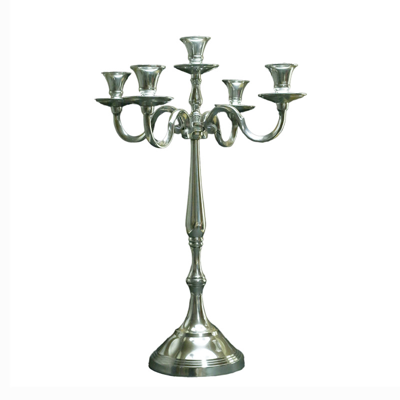 Candelabrum with curved candle stands