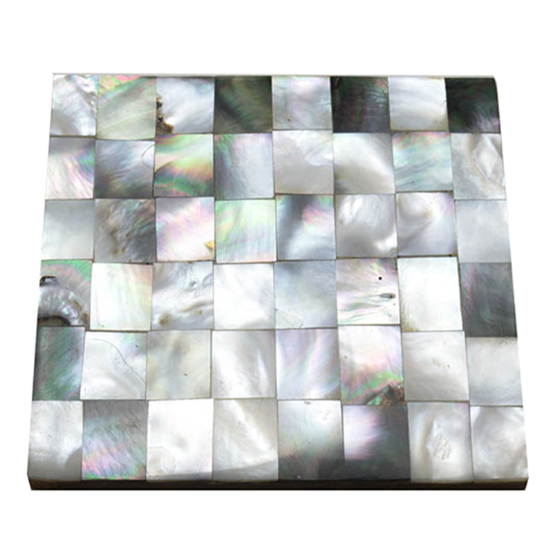 MOP Coaster Square Black-n-White (Set of 4)