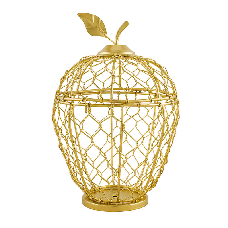 Apple Cage Candle Holder, Home Decor, Wedding Accent, Event or Party Centerpiece