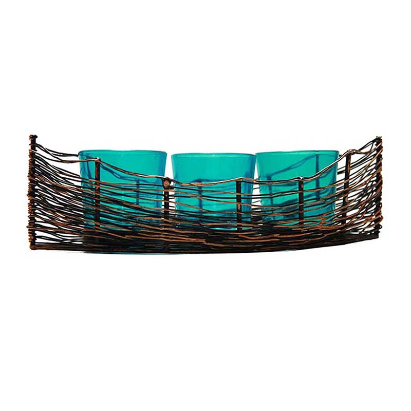 Black Wire-Cruise Turquoise