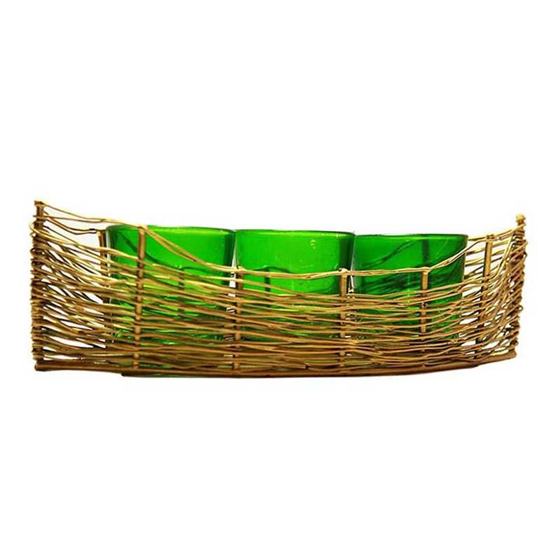 Golden Wire Cruise Green